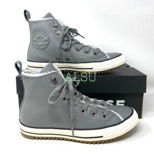 Converse Ctas Hiker Boot High Leather Mason Women